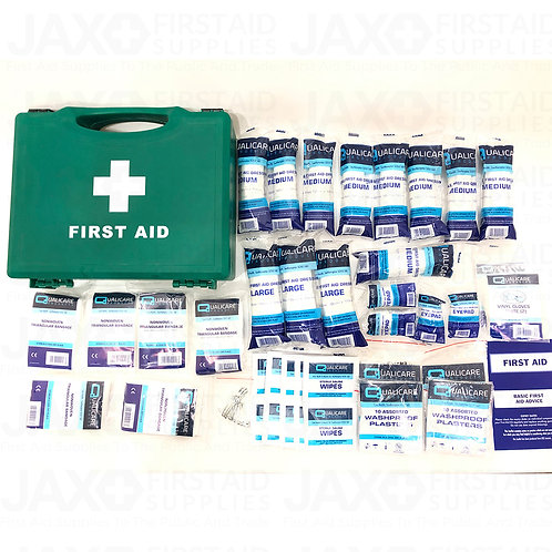 First Aid Kit HSE 1-20 Person Workplace + Free Bracket