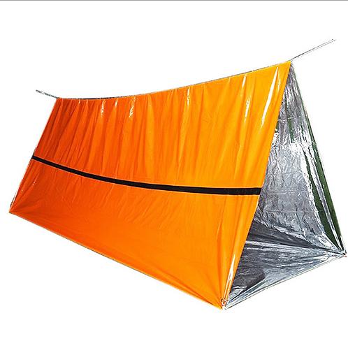 Outdoor Camping Emergency Tent (Orange)