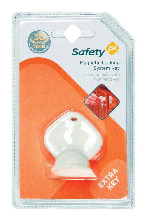 Safety 1st  White  Plastic  Cabinet Lock Key  1 pk
