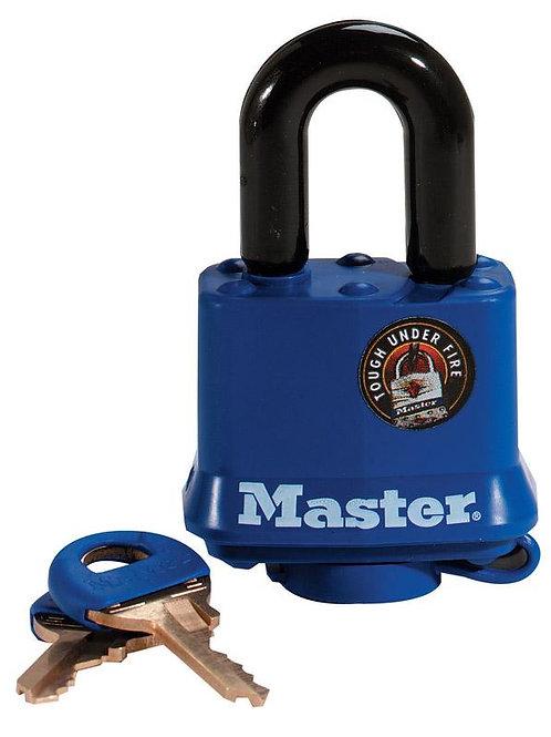Master Lock  1-5/16 - 1-11/16 in. H x 1 in. W x 1-9/16 in. L Vinyl