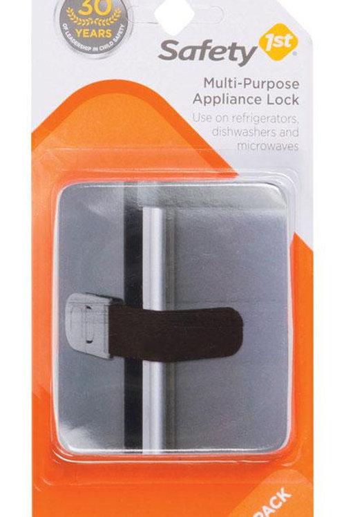 Safety 1st  Black  Plastic  Appliance Latch  2 pk