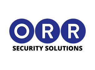 Logo for ORR Security Solutions. Training & Services from ORR Group