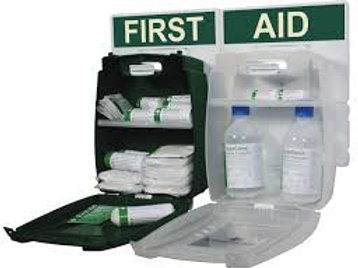 First Aid & Eyewash Station for 1 to 10 People HSE Compliant