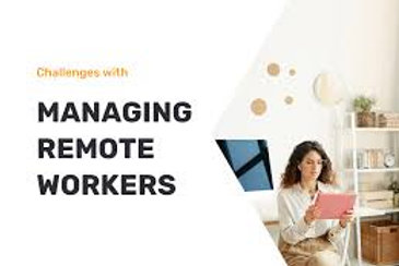 Managing Home Workers e - learning
