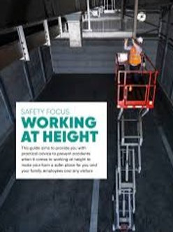 Working at Height interactive e - learning