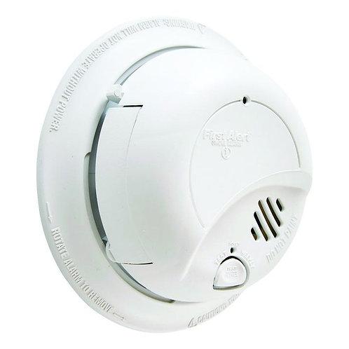 First Alert  Hard-Wired w/Battery Back-up  Ionization  Smoke/Fire