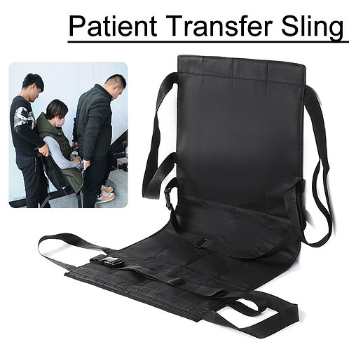 Patient Transfer Sling Foldable Oxford Wheelchair Transfer Seat