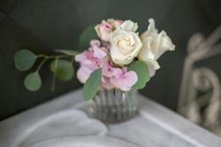 Blumengesteck Tischdeko