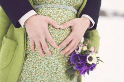 After Wedding Shooting mit Babybauch