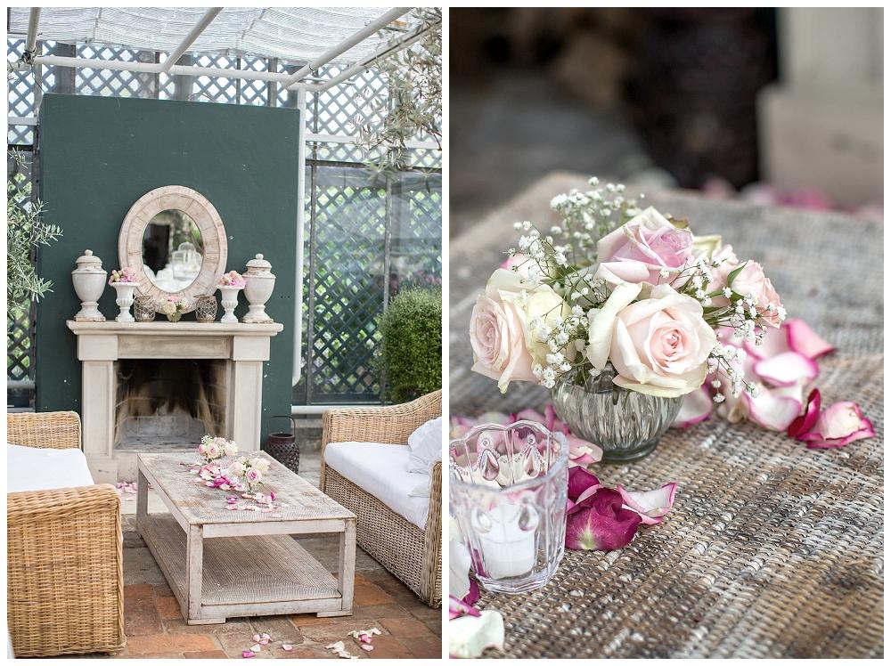 Blumen Tisch Dekorationen Kaminloft