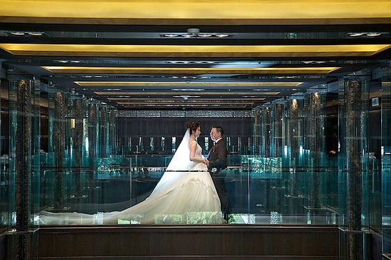 晶華圖二_故宮晶華「民俗月婚宴專案」推出買十桌送一桌的優惠,以每桌13,800元