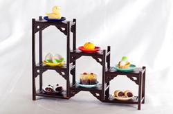 Classic Desserts in Chinese Curio Bo