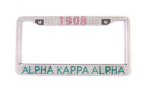 AKA Pearl License Plate Frame