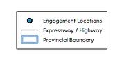 Saskatchewan Map of Engagement Sessions
