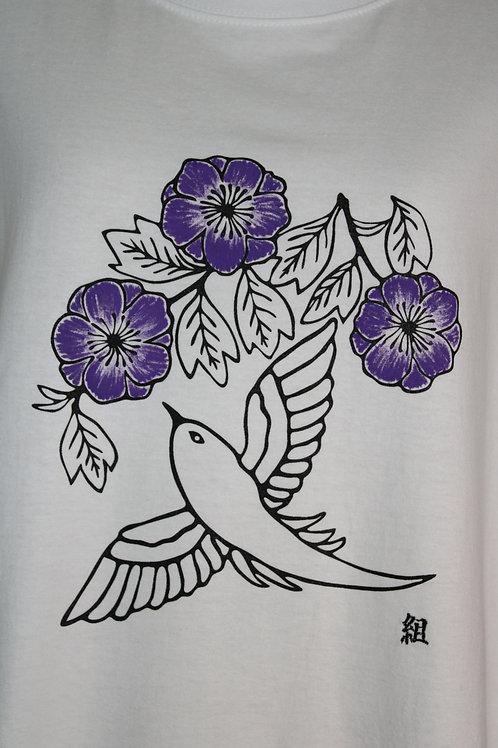 Tshirt imprimé motif Japonais