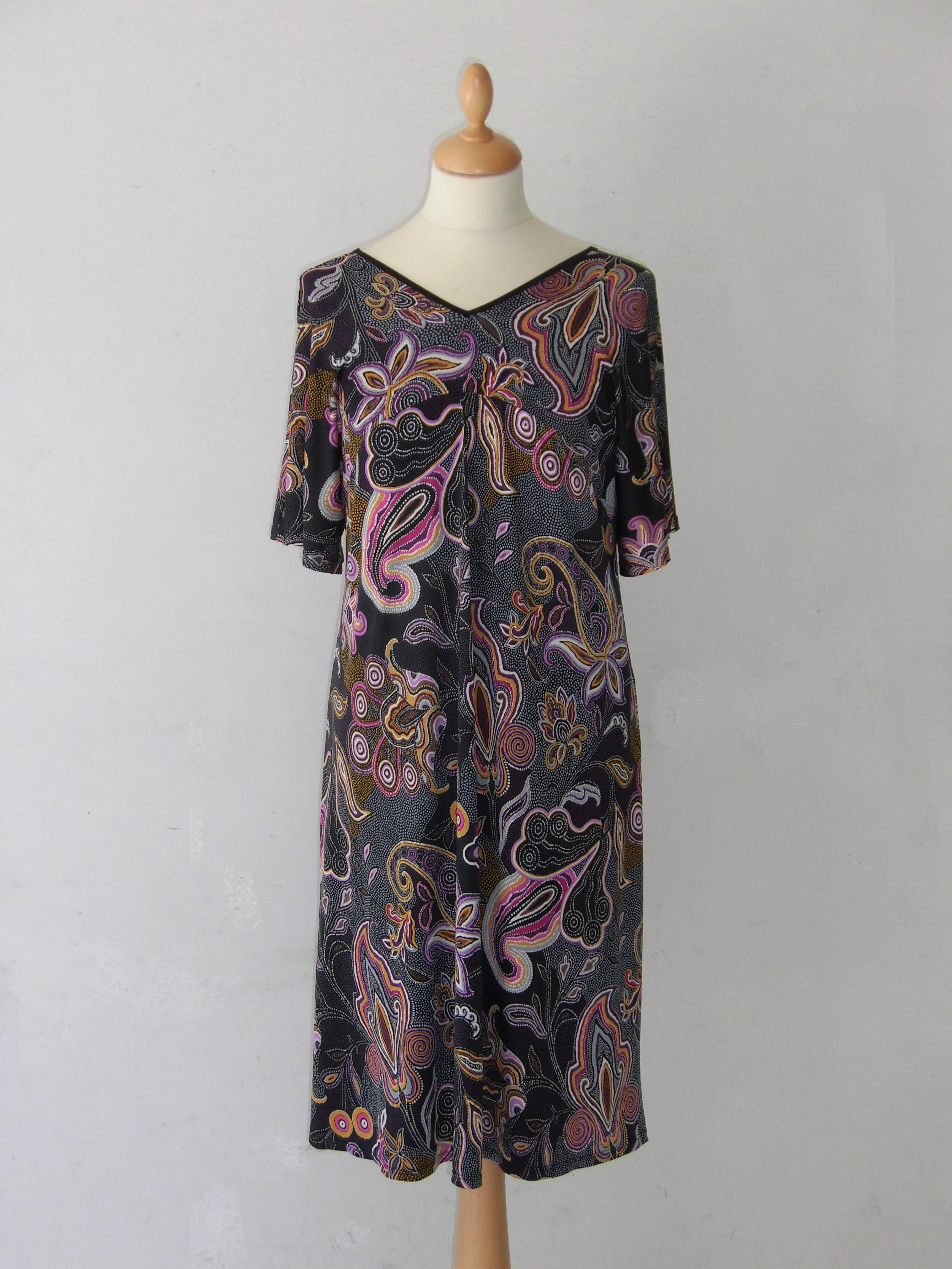 Robe imprimée paisley