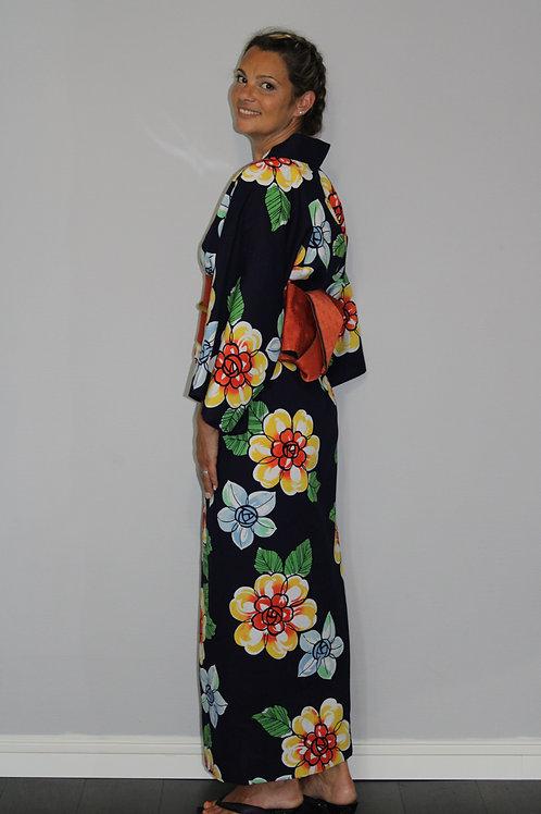 KIMONO(YUKATA) femme tissu Japonais