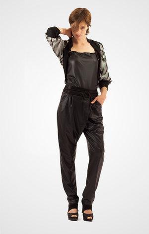 Pantalon salouel et gilet argenté