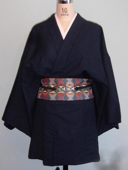 Ceinture/sac style obi japonais