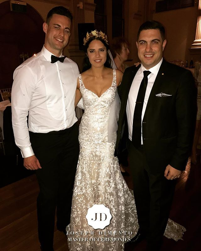 Congratulations to Tom & Jana Penrose on your fantastic wedding. It was a honour to host your big da