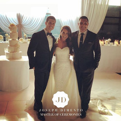 It was an honour to host the wedding of my good friends Daniel & Natalie Gullo. You both looked so b
