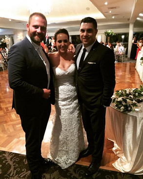 Congratulations Alyson & Zoran Hudjucovic on your fantastic wedding and thank you for allo