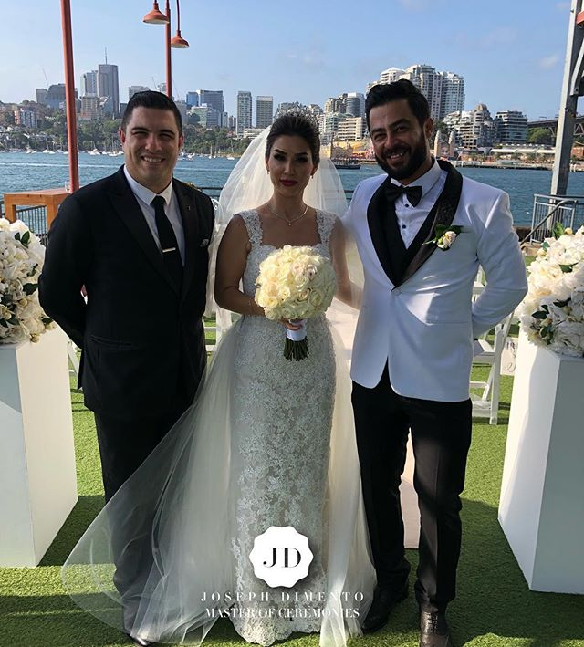 Today I was lucky to host the wedding of Sahba & his Persian princes Fereshteh