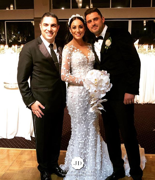 Tonight I have the pleasure of hosting the wedding of Alessandro & Danielle Casale.jpg You are so mu