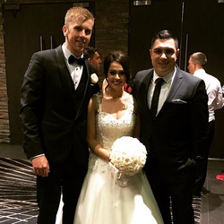 It is my pleasure to introduce Luke & Alicia Clements. Your wedding was fantastic and it was an hono
