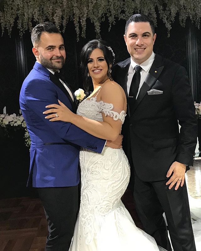 Congratulations to Monique & Adam Porreca on your wonderful wedding. Thank you for the honour to mee