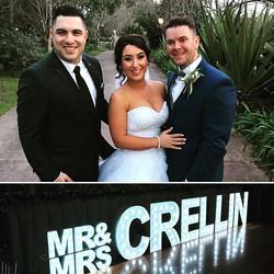 Congratulations to the beautiful newlyweds Mitch & Renae Grellin on a fantastic wedding. Thank you f