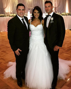 Congratulations to my good friends Daniel & Vicky Agresta on their fantastic wedding