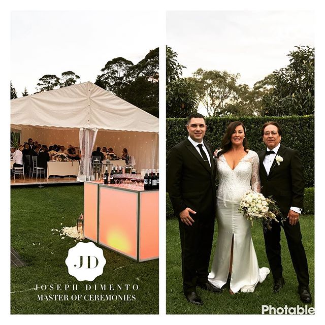 Under the stars, it was an honour to host the wedding of John & Danielle Vittoco. Your wedding was b