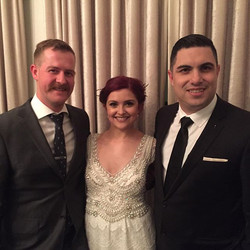 It's an honour to host the wedding of two close friends