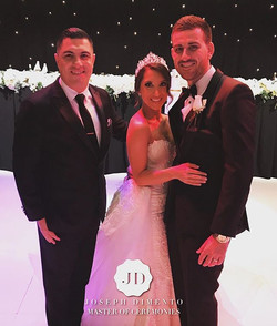 Tonight I have the pleasure of hosting the wedding of Jamie & Erica Gauci. Thank you for allowing me