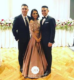 Congratulations to Eesha & Jarrod Martin