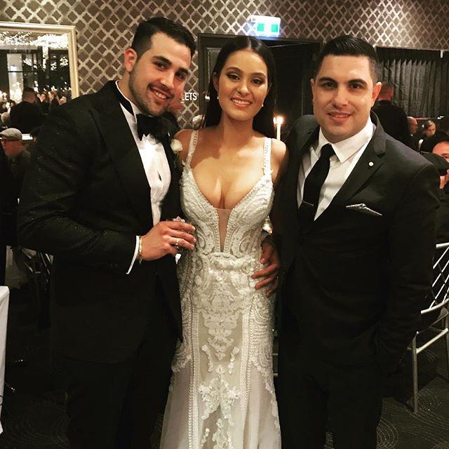 Congratulations to the stunning bride and groom Michael & Kristie Ramondino on your fantastic weddin