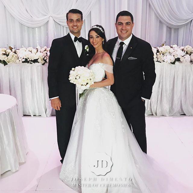 Congratulations to the stunning bride and groom Michael & Amanda Caminitti on your beautiful wedding