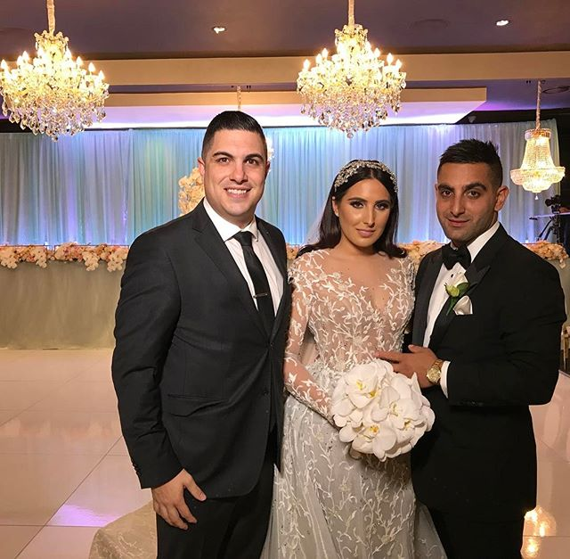 Congratulations to the stunning bride and groom Angela & George Elazzi on your fantastic wedding and