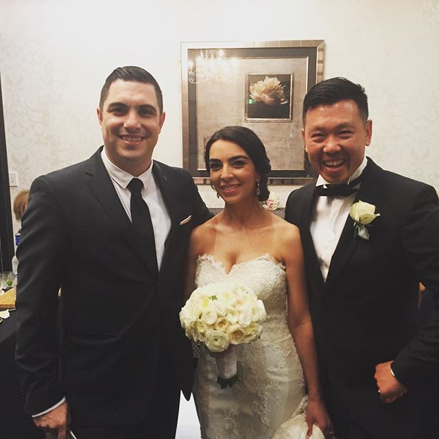 Congratulations to Mathew & Angela Tran on your wedding and thank you for allowing me to be your mas
