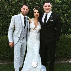Congratulations to the beautiful Bride & Groom Raphael & Jane Barbosa on your fantastic wedding