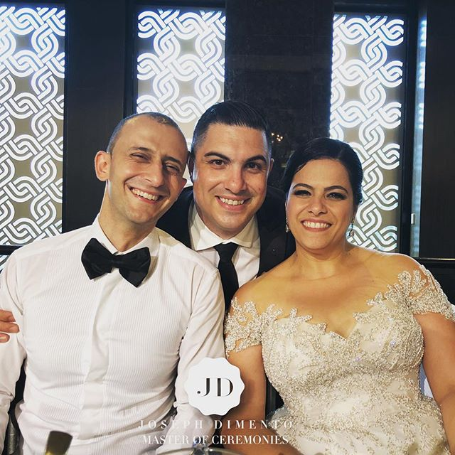 It was a pleasure to host the wedding of my good friends Domenic & Narelle Tanouse