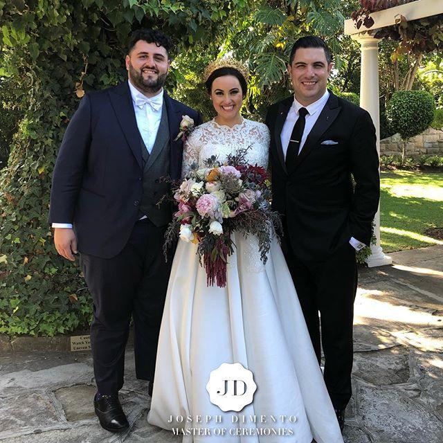 Congratulations to Ramez & Liana on your beautiful wedding. Thank you for choosing me to be your MC