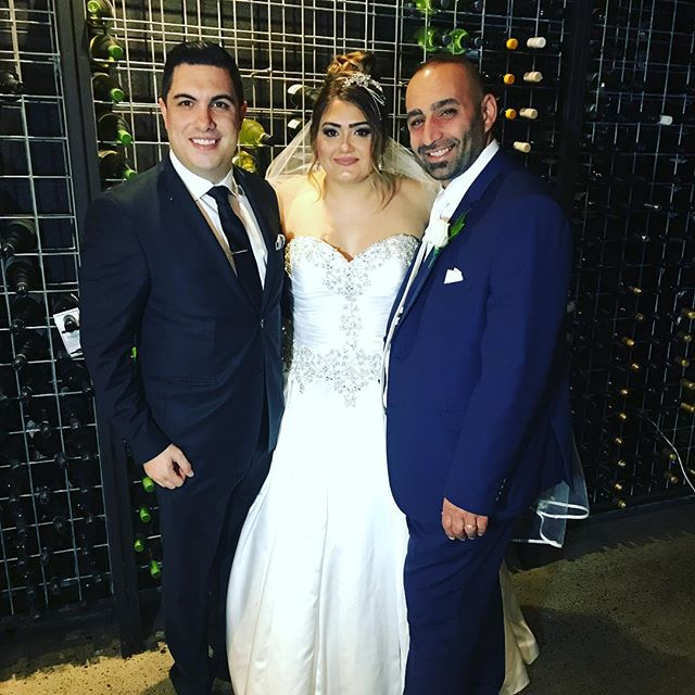 Congratulations to Christon & Nada Hilal on your wonderful wedding