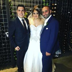 Congratulations to Christon & Nada Hilal on your wonderful wedding