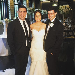 Congratulations to Mathew & Alexandra on a wonderful wedding and thank you for choosing me to be you