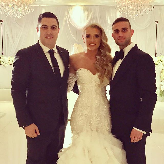Congratulations to Sebastian & Nicole Bellagamba on your wonderful wedding and thank you for allowin