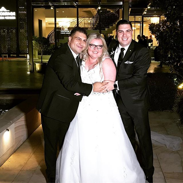 Congratulations to Emanuele & Kristina Ragusa on choosing me to host your fantastic wedding