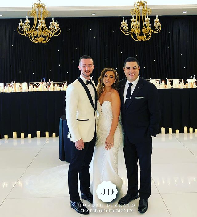 It is my honour to introduce Mr & Mrs Daniel & Eleni Collins