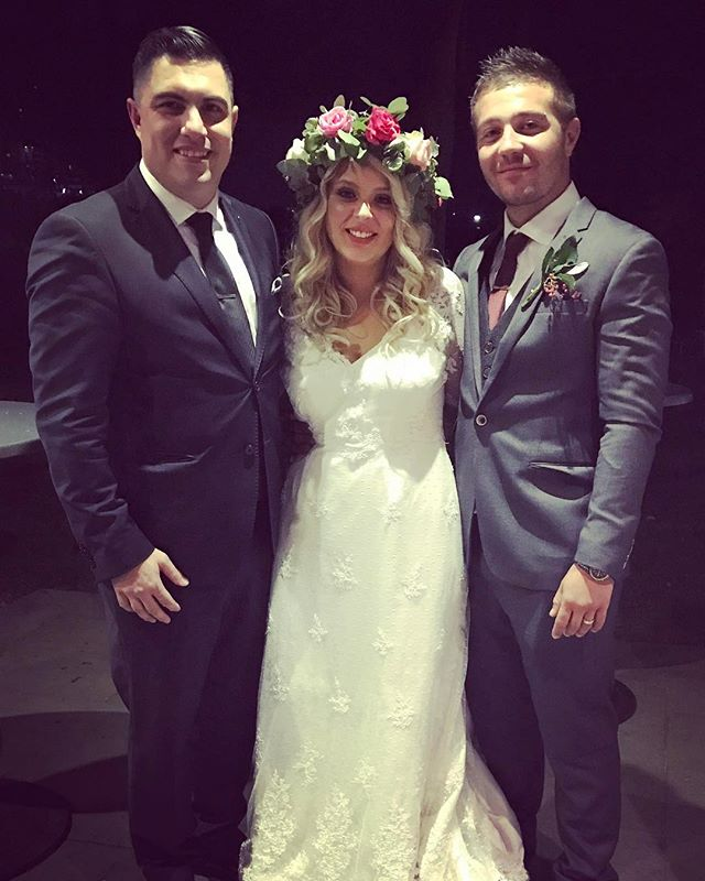 I have the honour of congratulating Daniel & Chantel Lemon on their wonderful wedding and thank you